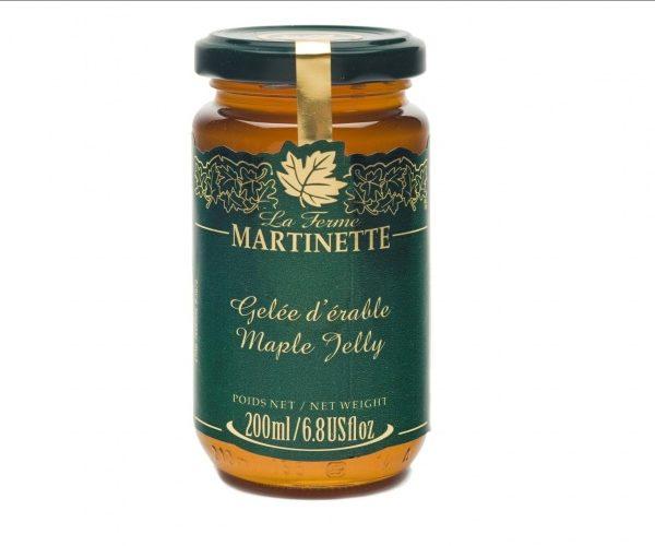 Maple jelly 200 ml -Glass jar