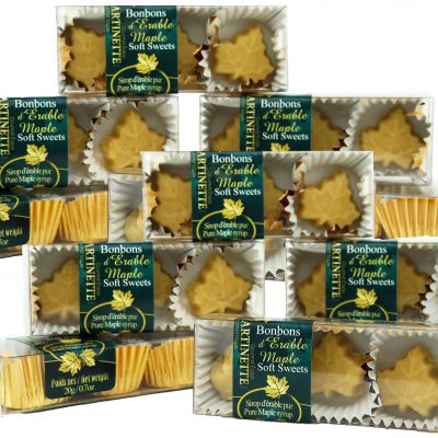 Pure maple soft sweets-12 boxes of 3 pieces