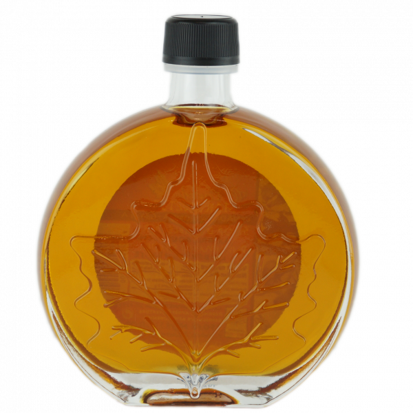 O CANADA- Pure maple syrup -Amber, Rich taste 250ml- Medallion leaf