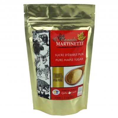 O CANADA- Pure maple sugar FINE 200g bag