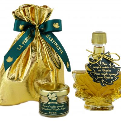 Pure maple syrup CANADA A- Golden, Delicate Taste 50ml -Gift-set