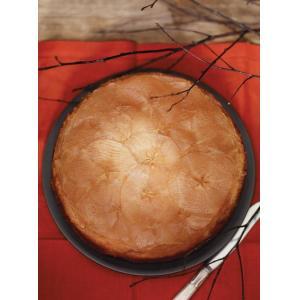 Gâteau renversé aux pommes confites à l'érable
