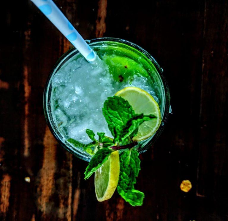 Cocktail Maple Mojito