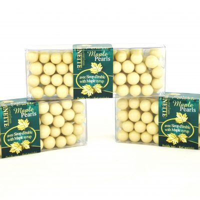 Crunchy Maple Pearls- 3x55g cello boxes