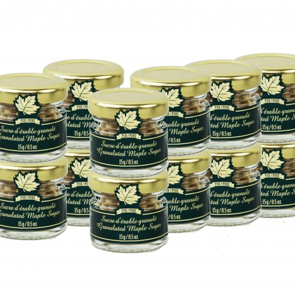 Pure maple sugar NUGGETS 12 x 15g- Mignons