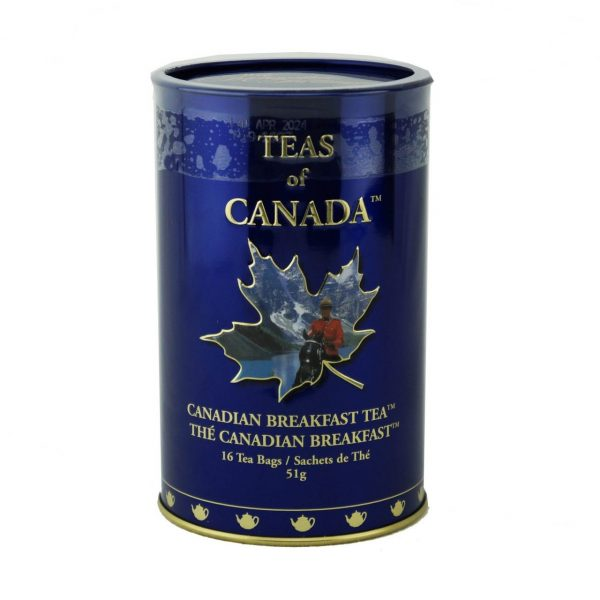 Canadian Breakfast Tea 51g – 16 tbgs Tin