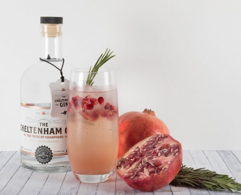 Pomegranate and Maple Punch