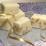 White Maple Praline Fudge