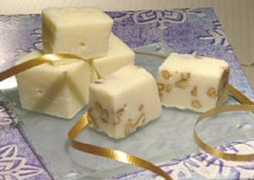 White Maple Praline Fudge