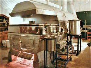 Maple syrup equipment: old evaporator