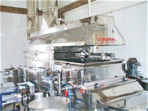 Maple syrup equipment: new evaporator