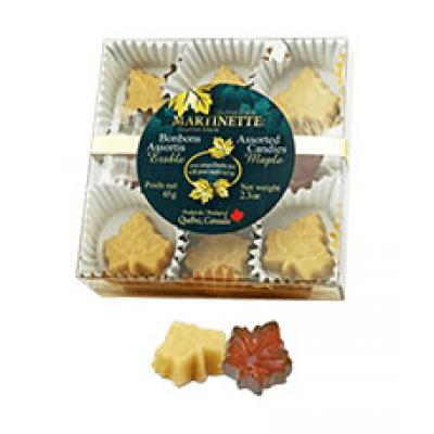 Assorted Maple Candies- (65g/2.3oz) box