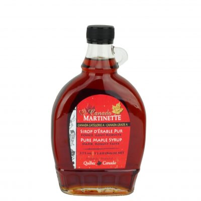 O CANADA- Pure maple syrup -Dark, Robust taste 375ml