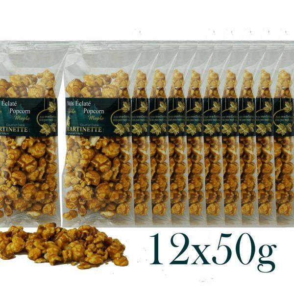 Maple Popcorn 12x50g – bags