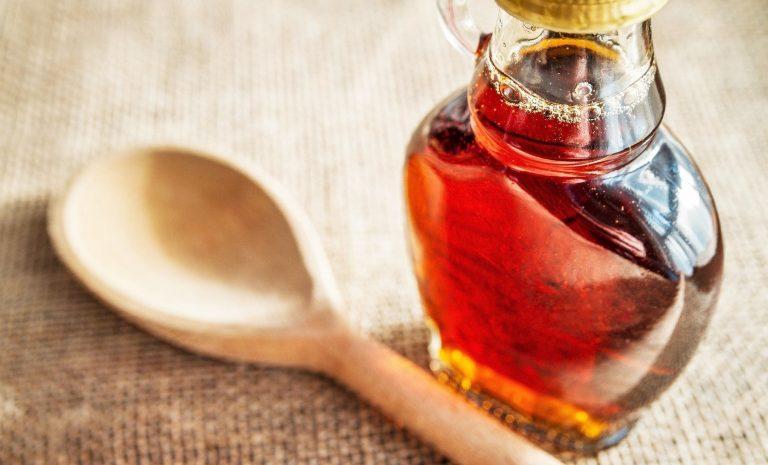 Taste of maple syrup