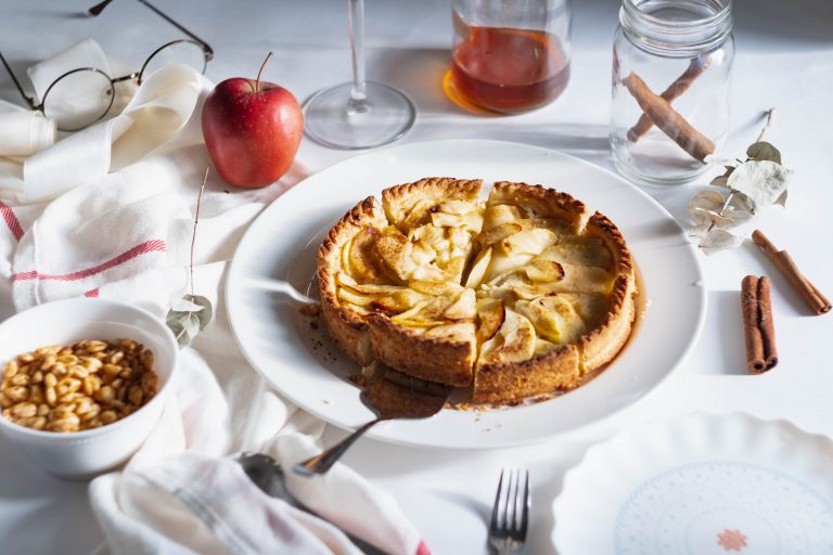 Apple and Maple Pie