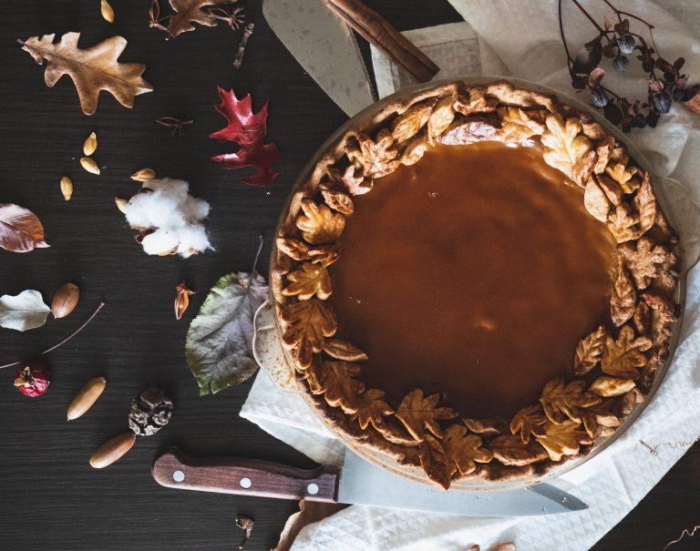 Gourmet maple syrup pie