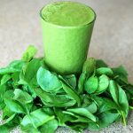 Creamy maple green smoothie