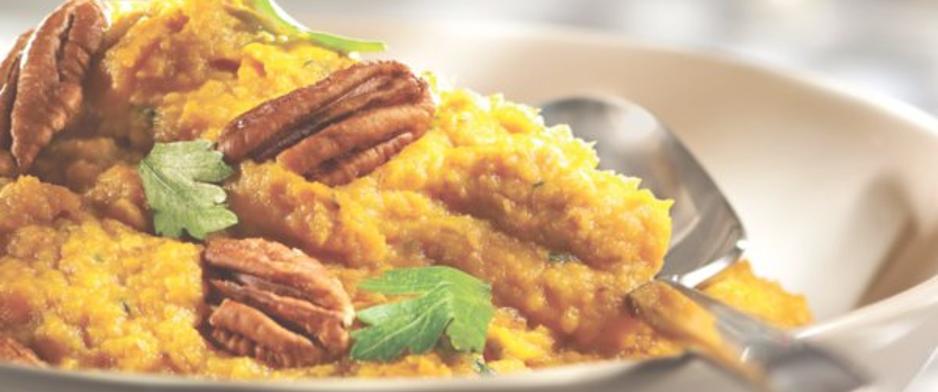 Receta puré patatas dulces maple