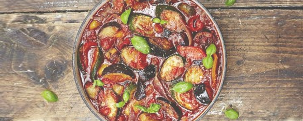 Receta ratatouille calabaza maple
