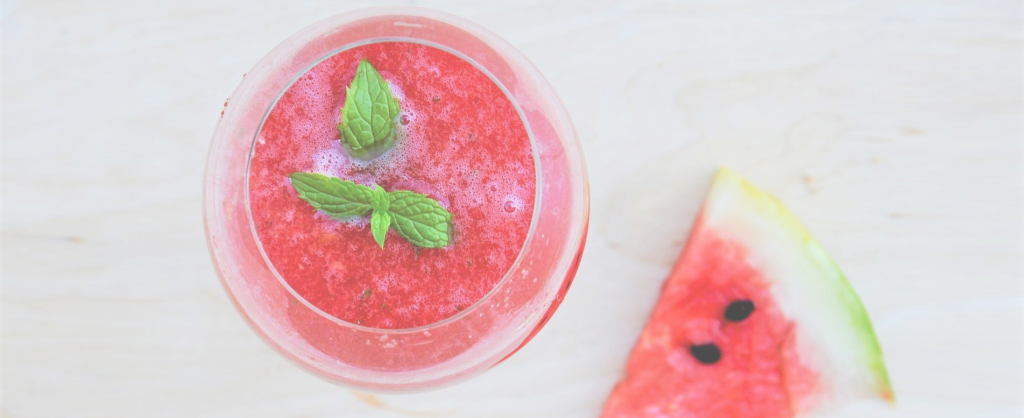 Watermelon mint maple slip recipe