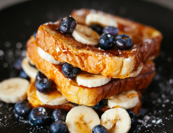 Maple country-style French toast