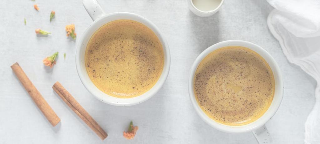 Turmeric maple latte recipe