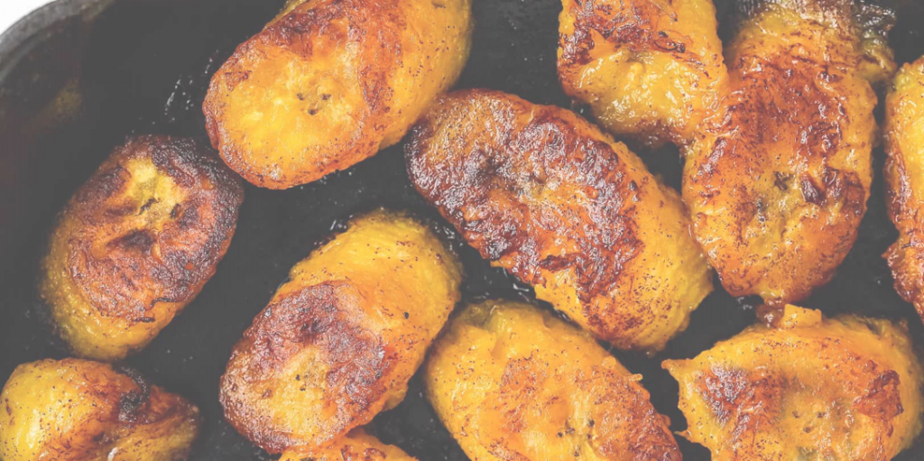 Grilled maple plantains recipe