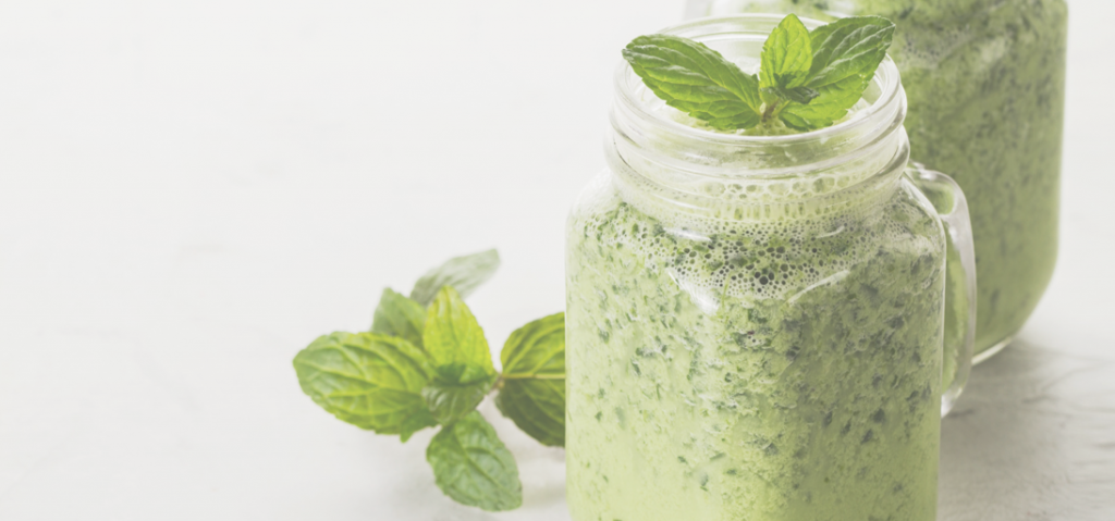 Maple mint green smoothie recipe