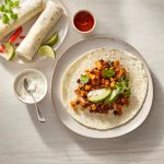Black Bean Maple Burritos