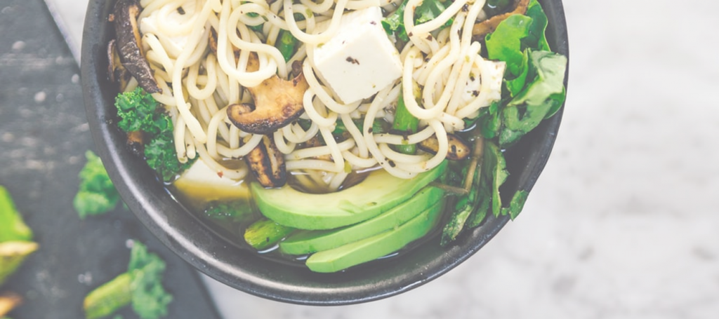 Tofu noodles vegetables maple recipe