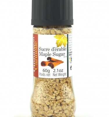 Maple sugar-Cinnamon- GRINDING CAP BOTTLE 60g
