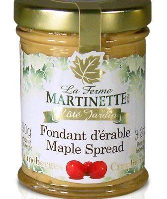 Pure maple spread -Cranberries 90g