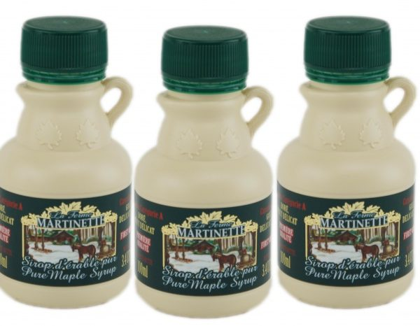 Pure maple syrup 3x100ml CANADA A- Golden, Delicate Taste