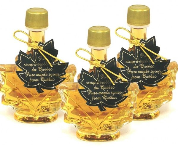 Pure maple syrup CANADA A- Golden, Delicate Taste 3x50ml -Maple leaf