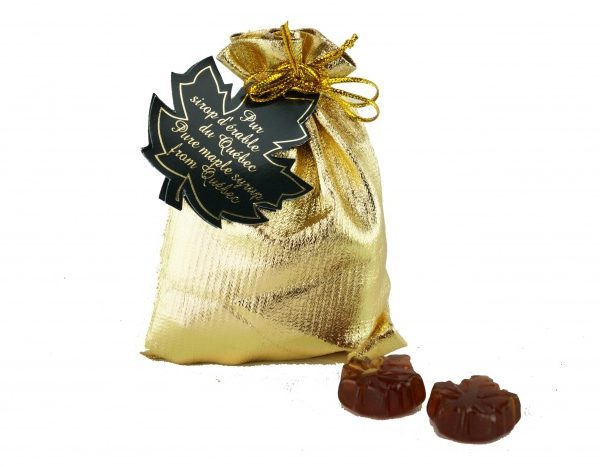 Clear hard maple syrup candies -50g Fancy Gold bag