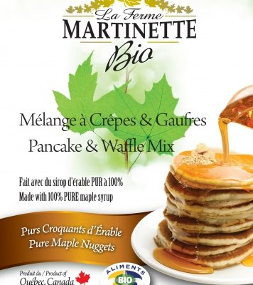 ORGANIC Pancake MAPLE NUGGETS 250g