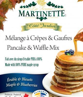 Pancake Waffle mix 250g-BLUEBERRIES-MAPLE