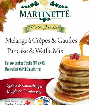 Pancake Waffle mix 250g-CRANBERRIES-MAPLE
