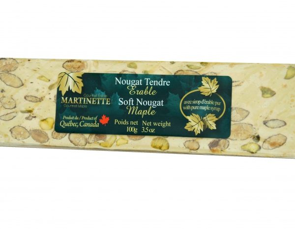Maple Soft Nougat 100g -bar