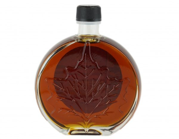 O CANADA- Pure maple syrup -Dark, Robust taste 250ml- Medallion leaf
