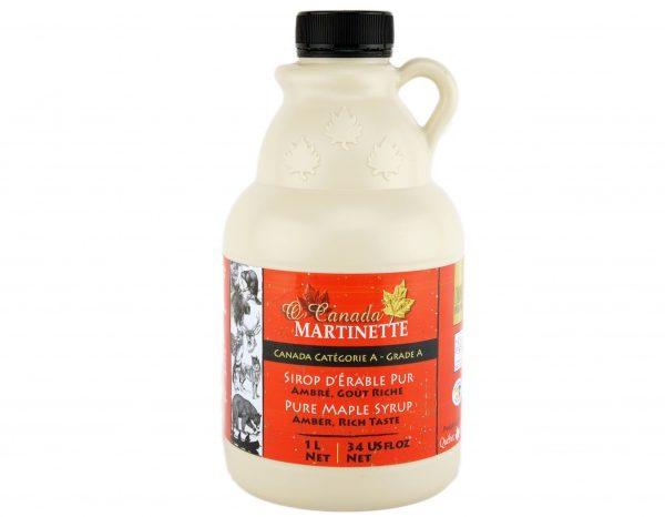 O CANADA- Pure maple syrup -Amber, Rich taste 1L jug