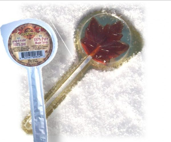 Maple syrup lollipops 12 x 20g