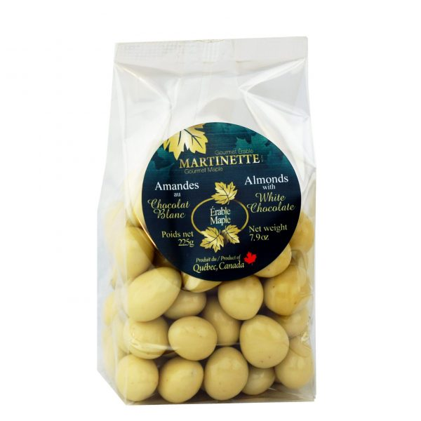 Maple Chocolate Almonds 225g bag