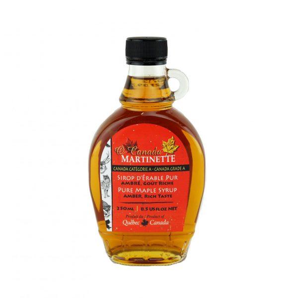 O CANADA- Pure maple syrup -Amber, Rich taste 250ml – Flint