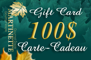 A GIFT CARD OF $100