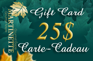 A GIFT CARD OF $25