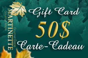 A GIFT CARD OF $50