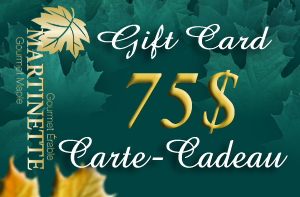 A GIFT CARD OF $75