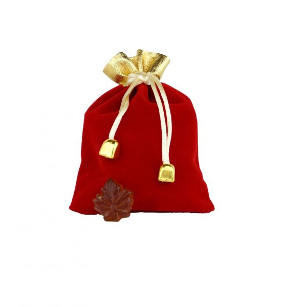 Clear hard maple syrup candies -50g Fancy RED bag